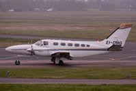 EI-DMG @ EGBJ - Cessna 441, c/n: 441-0165 at Staverton