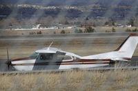 N4806Y @ BIL - Cessna Centurion @ BIL - by Daniel Ihde