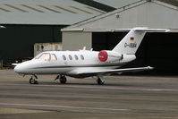 D-IBBA @ EGBJ - Cessna 525, c/n: 5250025 at Staverton on Gold Cup Day