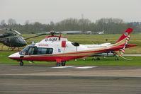 G-IVJM @ EGBJ - Kingfisher 2002 Agusta A-109E, c/n: 11154