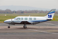 G-YEOM @ EGBJ - Yeoman's 1983 Piper PIPER PA-31-350, c/n: 31-8352022