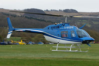 G-BSBW - A visitor to Cheltenham Racecourse on 2011 Gold Cup Day