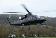 G-DPJR - A visitor to Cheltenham Racecourse on 2011 Gold Cup Day