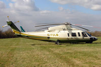 G-FULM - A visitor to Cheltenham Racecourse on 2011 Gold Cup Day