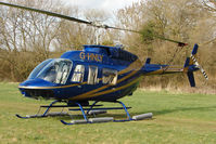 G-HNLY - A visitor to Cheltenham Racecourse on 2011 Gold Cup Day