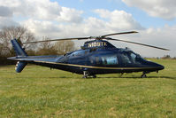 N109TK - A visitor to Cheltenham Racecourse on 2011 Gold Cup Day