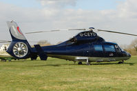 G-CEYU - A visitor to Cheltenham Racecourse on 2011 Gold Cup Day