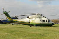 G-WIWI - A visitor to Cheltenham Racecourse on 2011 Gold Cup Day