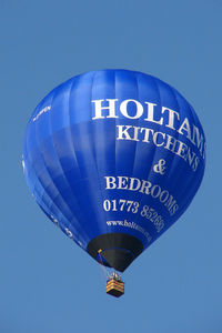 G-HPEN - Holthams Kitchens and Bathrooms 'Ultramagic M-120 overflying Belper, Derbyshire UK