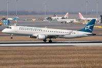 4O-AOB @ LOWW - Montenegro Airlines - by Delta Kilo