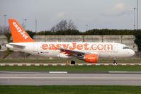 G-EZAP @ EGCC - Easyjet 2006 Airbus A319-111, c/n: 2777 at Manchester