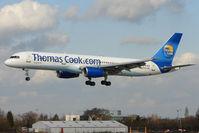 G-FCLK @ EGCC - Thos Cook 1993 Boeing 757-2Y0, c/n: 26161