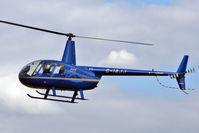 G-IAJJ @ EGCB - 2007 Robinson R44 Raven ll, c/n: 11953 - by Terry Fletcher