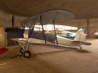 OO-ROR @ EBGB - In hangar @ Grimbergen