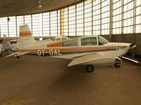 OY-GAL @ EBGB - In hangar @ Grimbergen