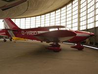 G-HRIO @ EBGB - In hangar @ Grimbergen
