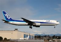 JA623A @ KPAE - KPAE Boeing 965 returning from a test flight