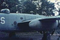 41-30792 @ 0000 - North American B-25D Mitchell.FR193 RAF.320 Dutch squadron.Used as an instuctional airframe by te Dutch.Preserved Oorlogs en Verzetsmuseum Overloon Netherlands.Dubious colors 2 6.Late 1960's. - by Robert Roggeman
