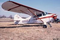N85817 @ 47N - Aeronca 11BC Chief w/ faded paint, at Kupper Airfield (now renamed Central Jersey Regional) - by John Hevesi