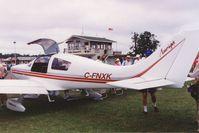 C-FNXK @ OSH - Auriga F.T. c/n: 001, Flight Composites. Degistered 1994-07-20. Airventure 1992 - by Timothy Aanerud