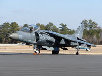 165597 @ ILM - Marines Harrier armed with Sidewinder Air to Air missile - by Mlands87