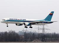 4X-EBS @ LSGG - Landing rwy 23 - by Shunn311