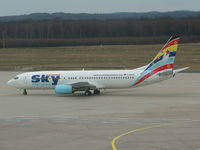D-AGSA @ EDDK - German Sky AirlinesE