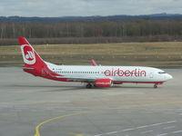 D-ABBH @ EDDK - Air Berlin - by ghans