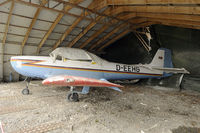 D-EEHG @ EDTS - preserved in Schwenningen and damaged by a heavy hailstorm. - by Joop de Groot