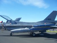 J-869 @ EGQL - Dutch F-16 at RAF Leuchars Air Show - by Jordan Wardrope