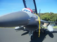 J-869 @ EGQL - RNAF F-16 - by Jordan Wardrope