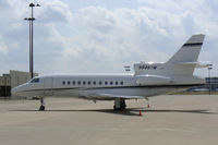 N945TM @ DFW - At the Corporate Aviation Ramp - DFW Airport - by Zane Adams