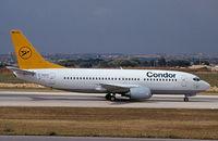 D-AGED @ LMML - B737-300  D-AGED Condor - by raymond