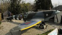 BAPC268 @ EGDG - PL279 after a rebuild and new markings at Spitfire Corner. - by Eric.Fishwick