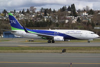 7T-VCA @ KBFI - First 737-800 for Tassili Airlines - by Joe G. Walker