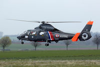 81 @ LFQI - Rarely seen SAR Dauphin of the French Navy.