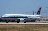 5B-DAU @ LMML - A320 5B-DAU Cyprus Airways - by raymond