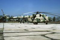 412 @ LBPG - Mi-17 of the Bulgarian af - by Joop de Groot
