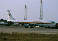 5N-ARQ @ LMML - B707 5N-ARQ DAS Air Cargo - by raymond