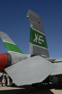 166791 @ KNZY - VX-9 Super Hornet