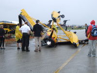 N43WY @ KLAL - Not the best way to exhibit an airplane...