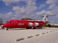 9H-ELE @ LMML - RJ70 9H-ELE Efly - by raymond