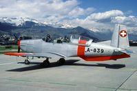 A-839 @ LSMS - still in use in the nineties - by Joop de Groot