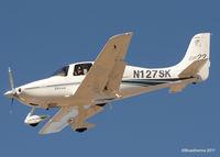 N127SK @ KAPA - 2002 Cirrus Design Corp SR22  (N127SK) - by Bluedharma