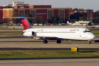 N762NC @ KATL - ex NW 1976 Mcdonnell Douglas DC-9-51, c/n: 47710 now in its new Delta livery