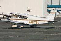 N4878L @ KORL - 1967 Piper PA-28-180, c/n: 28-4244