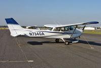 N734QA @ KORL - 1977 Cessna 172N, c/n: 17269020