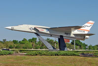 156632 @ KSFB - North American RA-5C Vigilante, c/n: NR316-24 on the perimeter of Sanford Airport