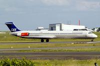 LN-ROU @ EKCH - McDonnell-Douglas DC-9-82 [49424] (SAS Scandinavian Airlines) Copenhagen-Kastrup 10/06/2008