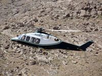 N139EV - On final approach to Forward Oerating Base Mirwais in central Afghanistan highlands - by Andy Burridge